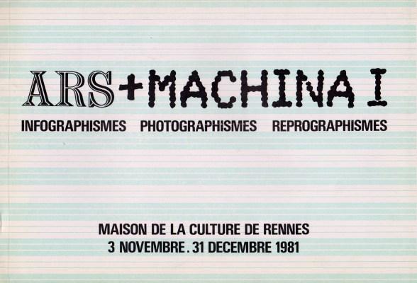 Ars + Machina 1 Rennes - 1981