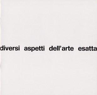 Diversi aspetti dell'Arte Esatta - Ferrara -Palazzo dei Diamanti