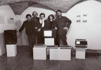 Postmachina - 1984 - Rosario, Alcide, Pierluigi, Alessandra, Mauro