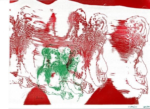 Sarah Jackson - per Xerography - 1986