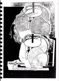 Copertina del catalogo Copy Art a Bologna - 1984