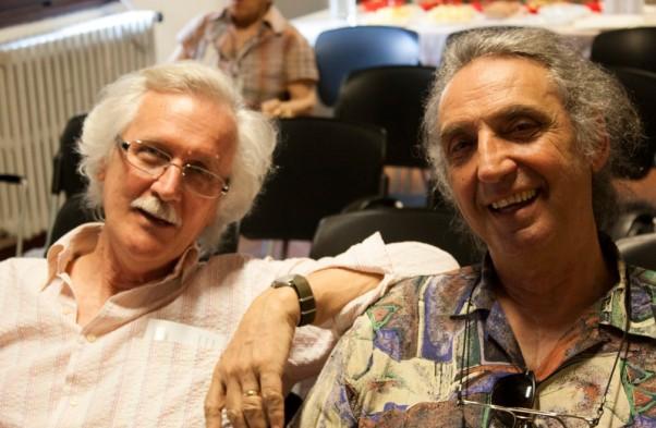 Daniele Sasson ( a destra) con Pierluigi Vannozzi
